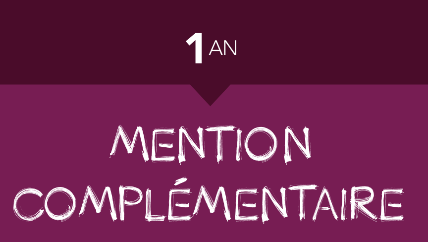 MENTION COMPLEMENTAIRE